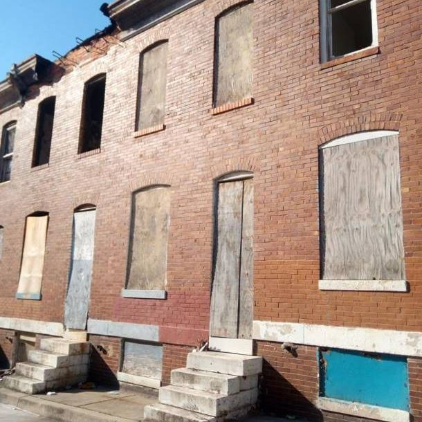 Cheap Rowhouse (Needs Full Rehab)!