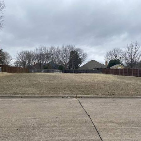 Azle lot for New Build! Lake View.